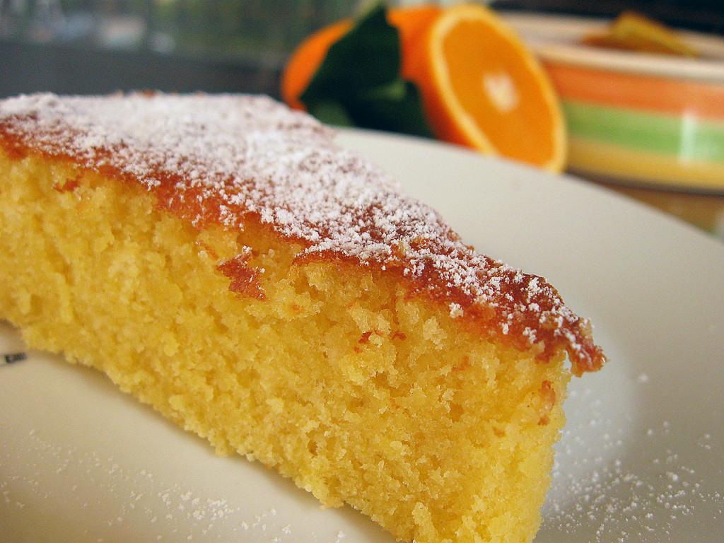 Пирог из апельсинов