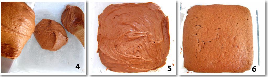 Пирожные с шоколадом