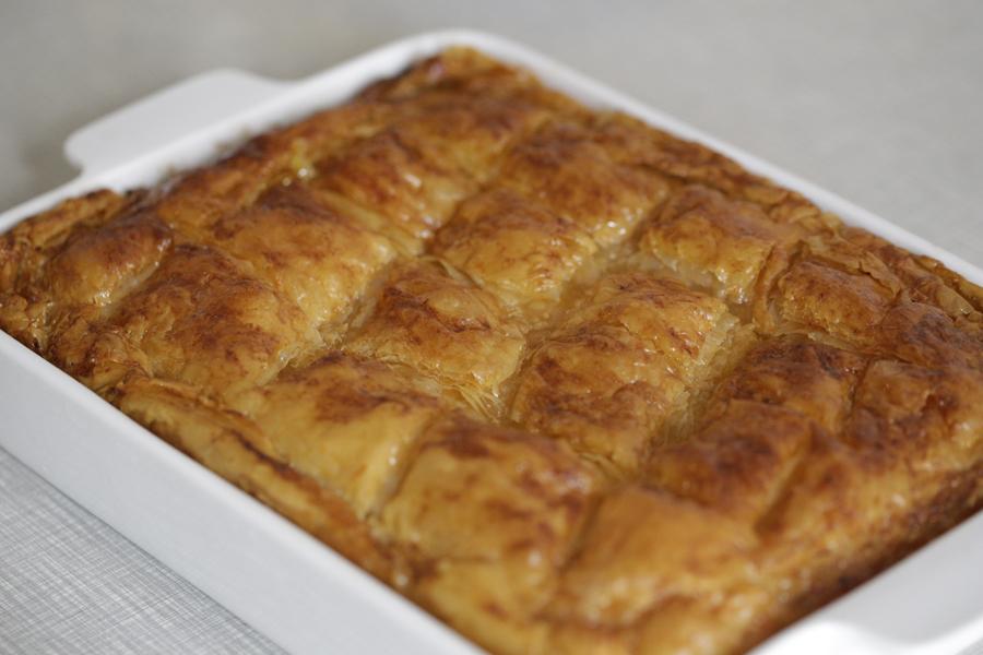 Пирог из теста фило