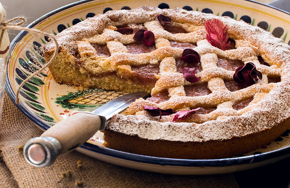 Тесто для пирога с вареньем