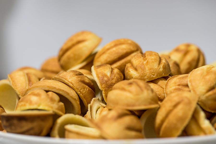 Орешки в орешнице