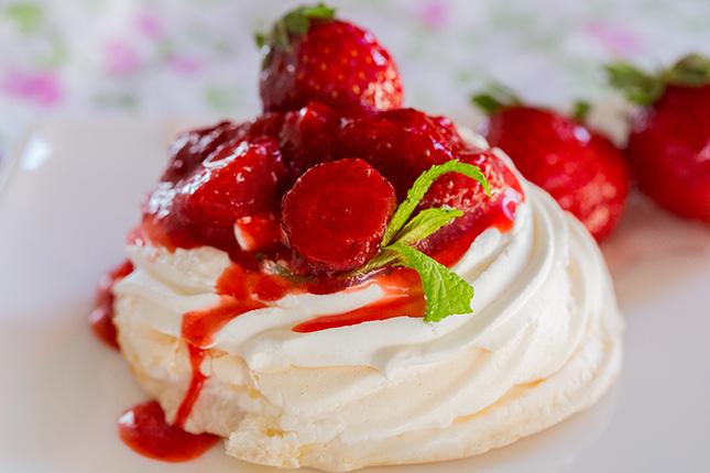 Фото пирожного Павлова