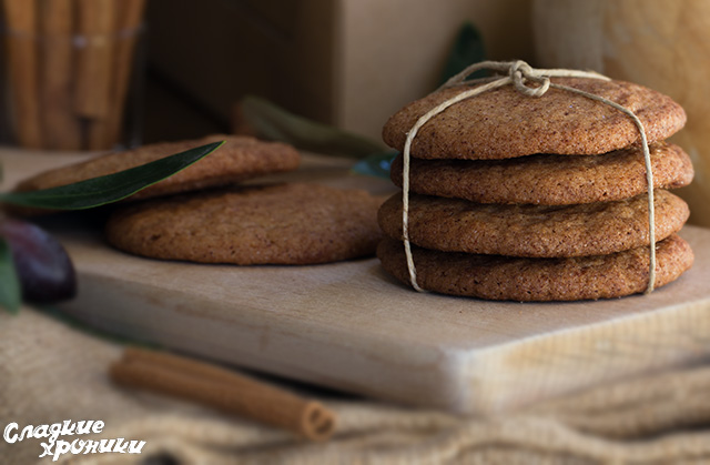 Печенье с сахаром