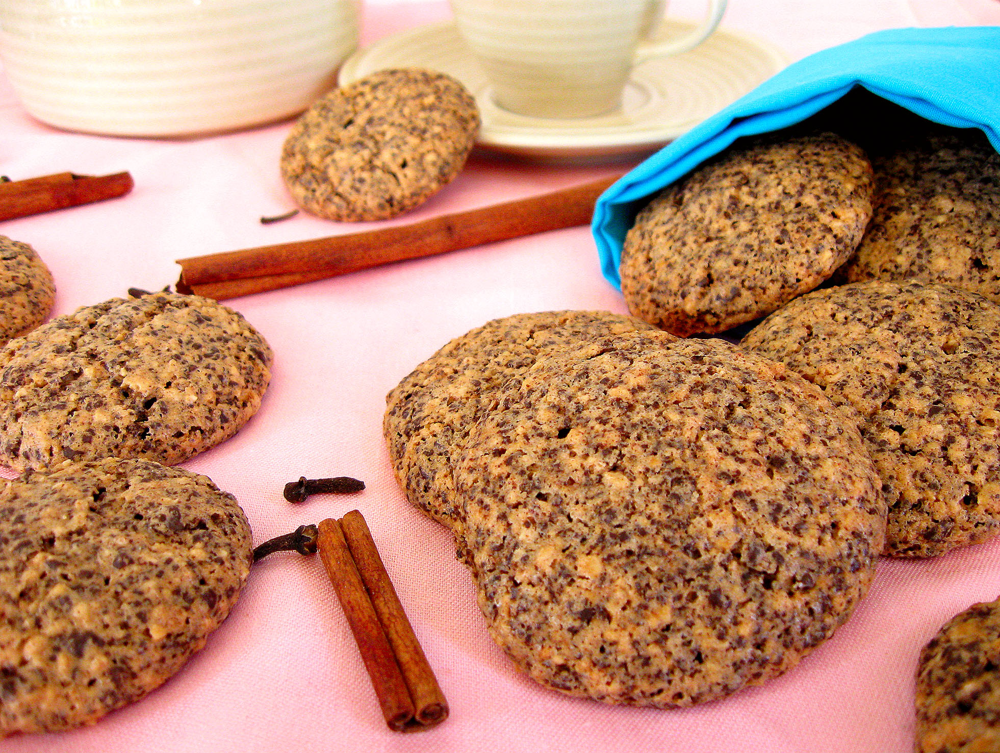 Диетическое печенье без муки