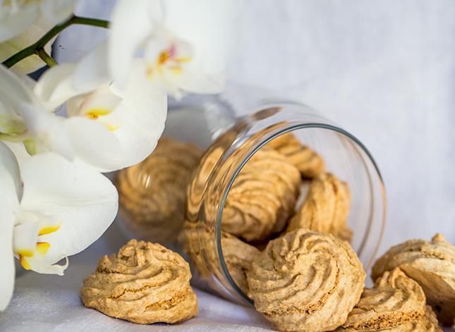 Печенье с кокосом