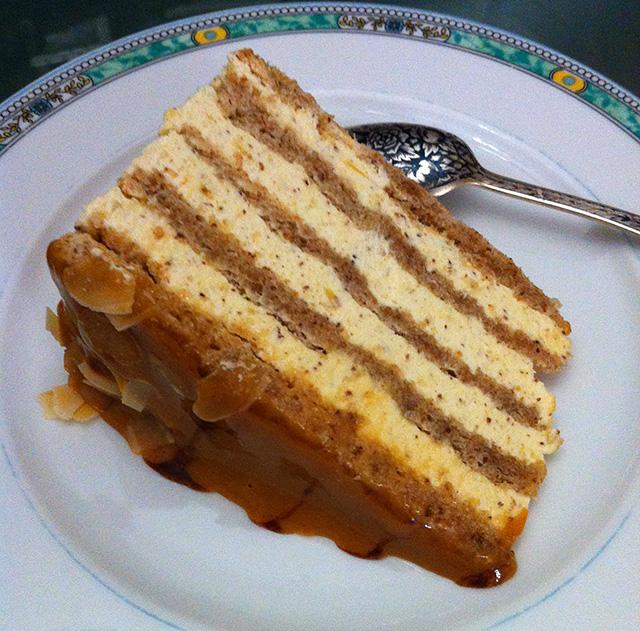 Эстерхази торт