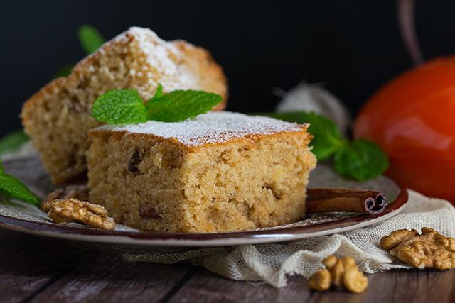 Сладкий постный пирог