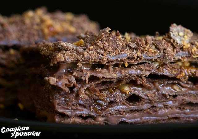 Шоколадный наполеон рецепт