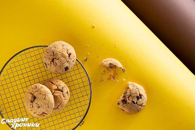 Рецепт печенья с арахисовой пастой